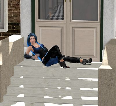 Waiting on the Stoop