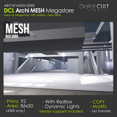 Second Life ---> deal of the - week Archi Mesh megastore 30% off