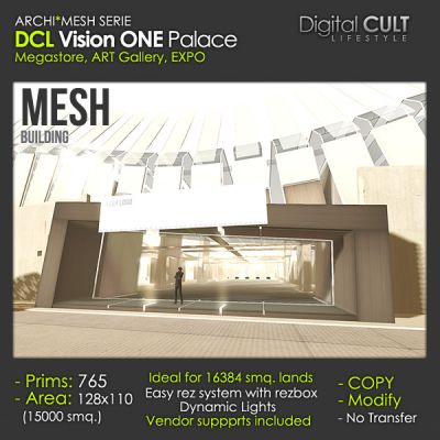 VR CULT - CUSTOM Buildings for Sansar and SL - posted by Colpo