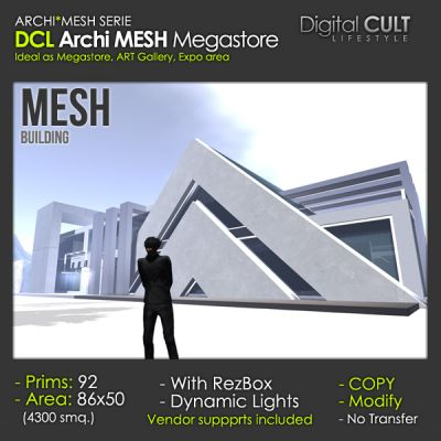 NEW Deal of the Week! - ARCHI Mesh Megastore 30% off -- 92 PRIMS ...