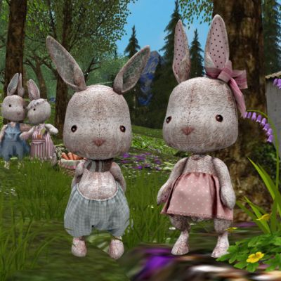 EASTER BUNNIES JIGSAW PUZZLE