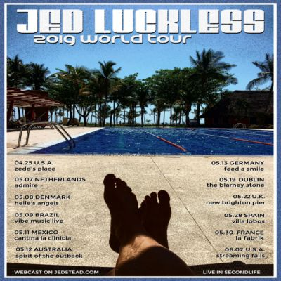 Jed Luckless 2019 World Tour!