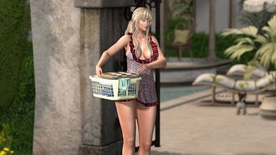Today is Kayla's laundry day