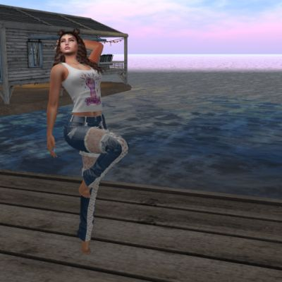Prancing on the Docks