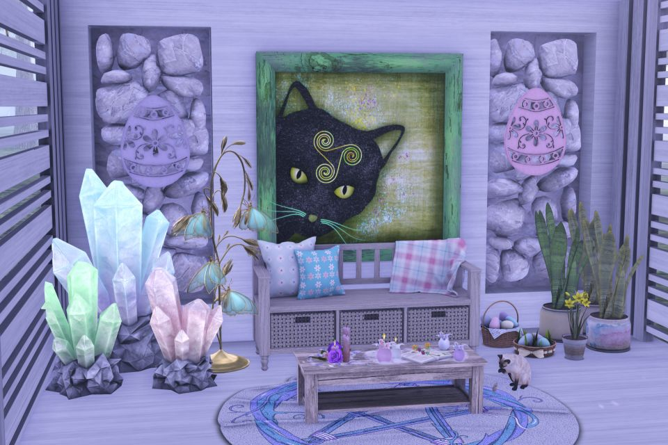 A Place for Ostara to Relax