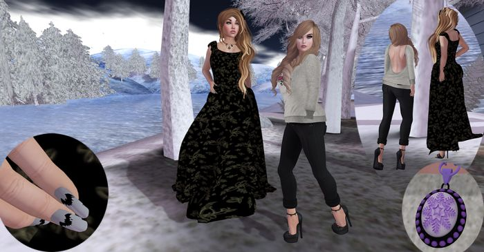 Aer & Gwen at the Winter Market