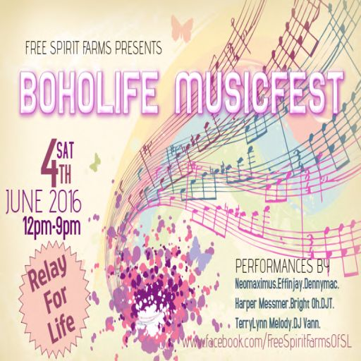 BOHOLIFE MUSICFEST at Free Spirit Farms of SL for RFL