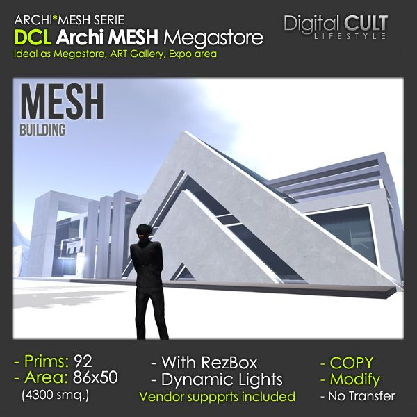 NEW Deal of the Week! - ARCHI Mesh Megastore 30% off -- 92 PRIMS !!