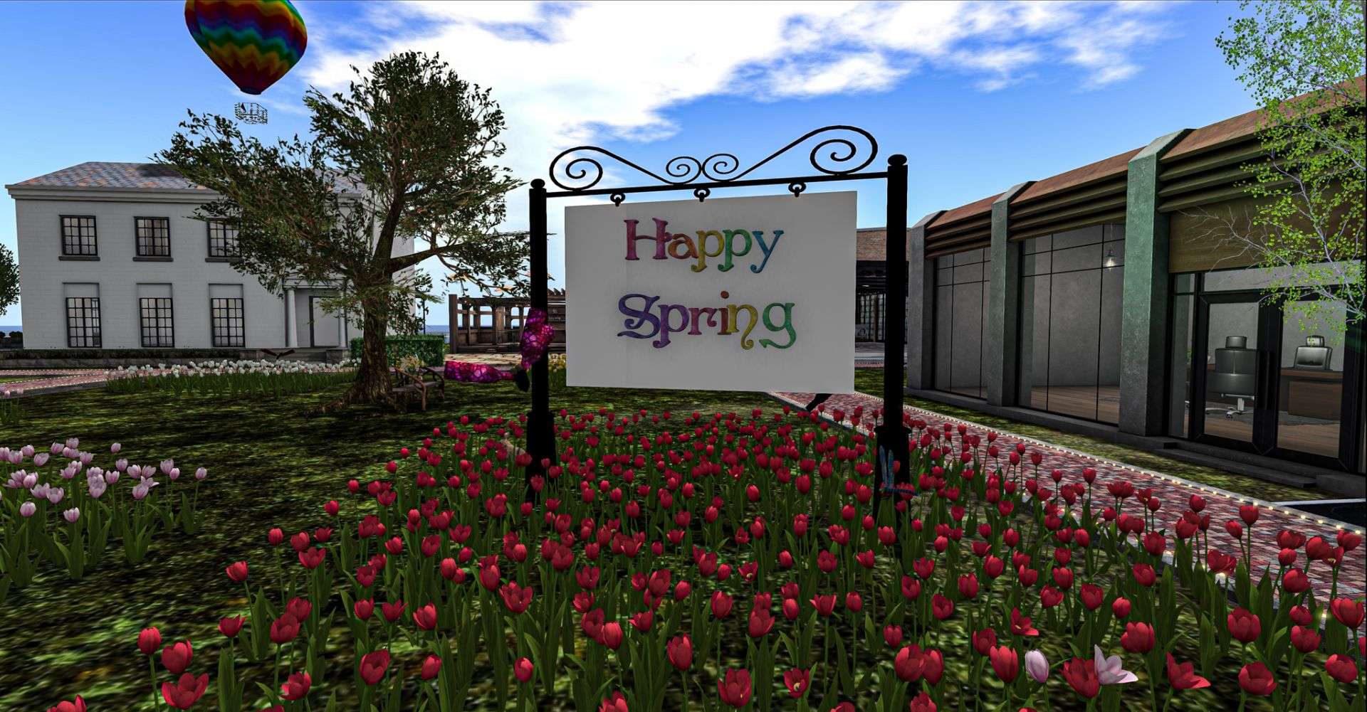 Spring Fling 2020 at Estoria in Second Life