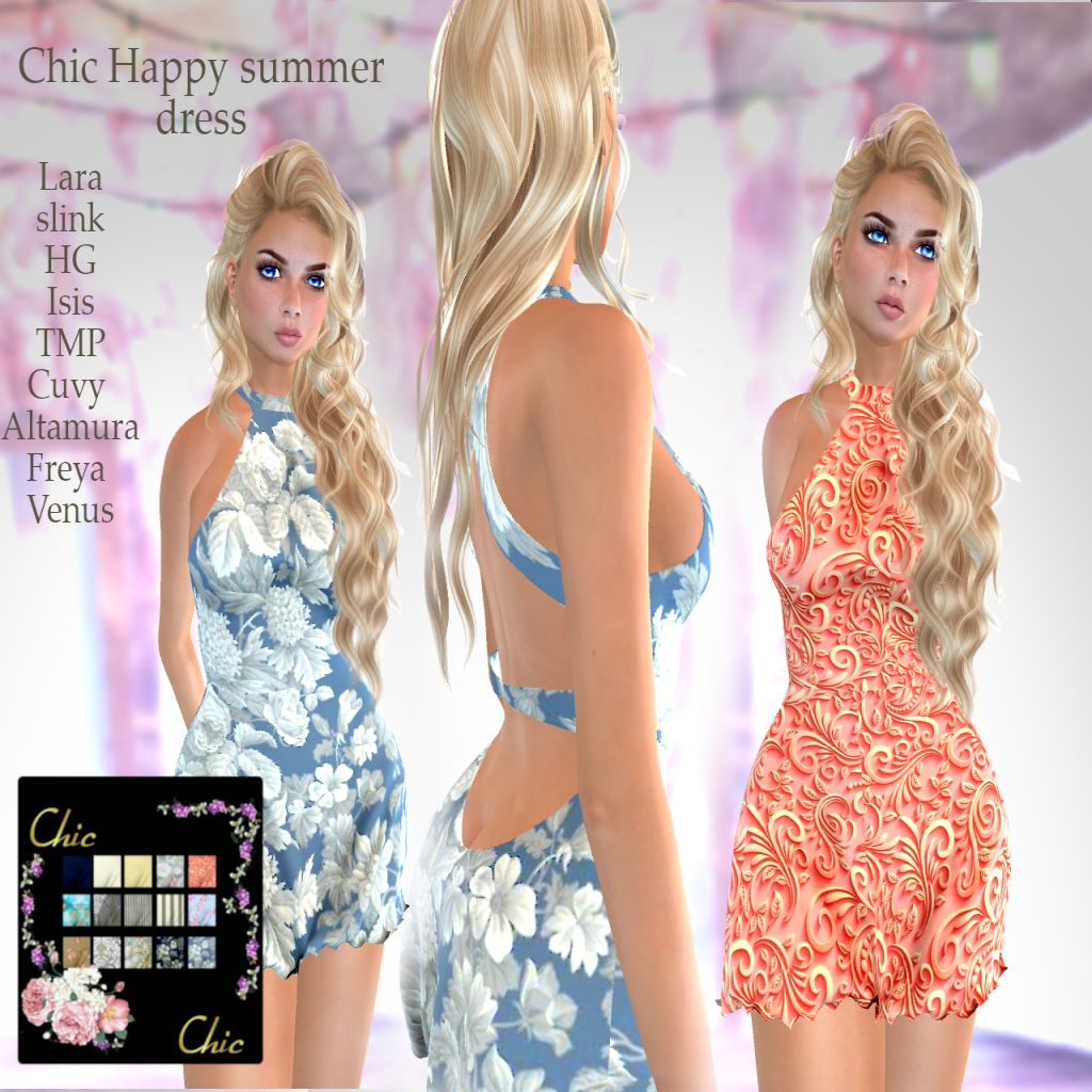 New release at Chic: Happy Summer