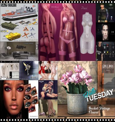 Hello Tuesday -209- Store List for 17th April