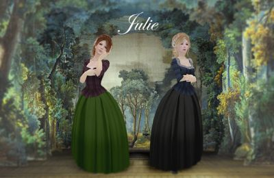!!CdE Update!! New MIX&MATCH gown Julie~ Available ONLY in Chateau de Versailles Marketplace. Check out for more info and SLUrls: https://royalcourts.ning.com/forum/topics/chateau-d-esprit-new-releases-25-05-16#.V0WFNZMrIxc
