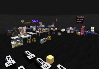 Moving Gacha Sale Nothing over 50L and even freebies!  http://maps.secondlife.com/secondlife/Nuvoletta/130/119/29