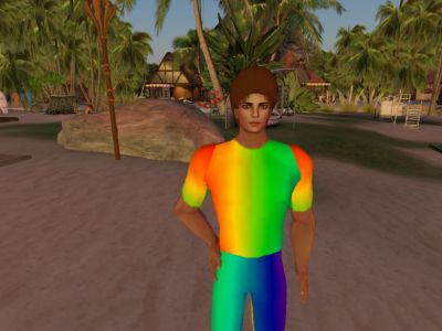 Rainbow T Shirt and Pants
