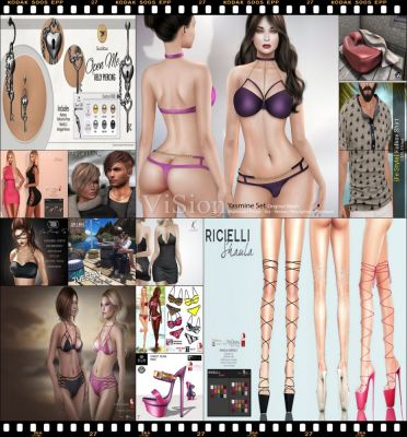"""TIME FOR  HELLO TUESDAY! JUST ONE DAY FOR 50L$ AND 50% OFF SALE DEALS! Find all info and direct SLurls @ http://cosmopolitansl.blogspot.com/2017/06/hello-tuesday-168-store-list-for-27th.html """"Hello Tuesday is weekly discount event with Cosmo stores, direct SLurls to every item you can find next to each vendor picture."""" Enjoy!"""
