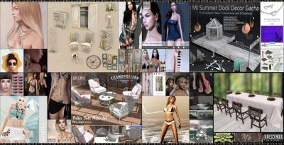 LAST DAY FROM CURRENT COSMOPOLITAN ROUND! IF YOU DIDNT YET, DONT WASTE TIME AND COME CHECK WHAT COSMOPOLITAN HAVE TO OFFER BEFORE ITS ALL GONE WITH NEW ROUND 2nd JULY! Find all info @ http://cosmopolitansl.blogspot.com/2017/06/cosmopolitan-round-225-19th-june-1st.html Or just come @ http://maps.secondlife.com/secondlife/No%20Comment/131/61/22 Enjoy!
