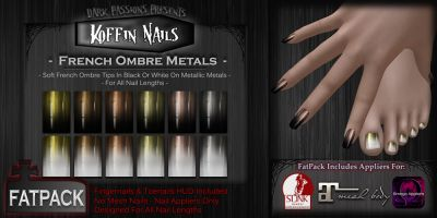 It's been awhile lovelies but I'm still making nails and other goodies... Grab these at Mesh Body Addicts this round. http://maps.secondlife.com/secondlife/Down%20Under/208/67/21