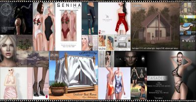 LAST DAY FROM CURRENT COSMOPOLITAN ROUND! IF YOU DIDNT YET, DONT WASTE TIME AND COME CHECK WHAT COSMOPOLITAN HAVE TO OFFER BEFORE ITS ALL GONE WITH NEW ROUND  16th JULY! Find all info @ http://cosmopolitansl.blogspot.com/2017/07/cosmopolitan-round-235-3rd-15th-july.html Or just come @ http://maps.secondlife.com/secondlife/No%20Comment/131/61/22 Enjoy!