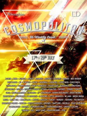 BRAND NEW COSMOPOLITAN ROUND IS HERE! \o/ Info coming soon @ http://cosmopolitansl.blogspot.com/ Or just come @ http://maps.secondlife.com/secondlife/No%20Comment/131/61/22 Enjoy!