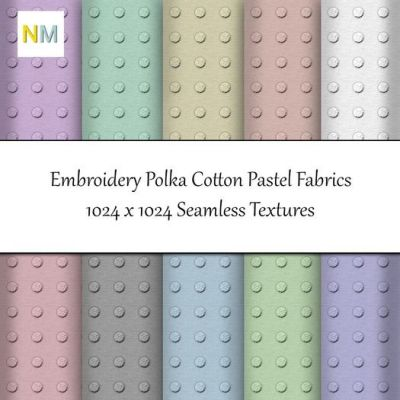 New fabrics :) https://marketplace.secondlife.com/p/Embroidery-Polka-Cotton-Fabric-Textures-NM/12409655