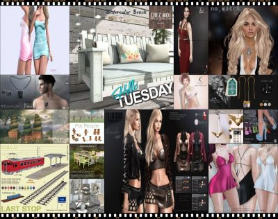 "TIME FOR  HELLO TUESDAY! JUST ONE DAY FOR 50L$ AND 50% OFF SALE DEALS! Find all info and direct SLurls @ http://cosmopolitansl.blogspot.com/2017/08/hello-tuesday-177-store-list-for-29th.html ""Hello Tuesday is weekly discount event with Cosmo stores, direct SLurls to every item you can find next to each vendor picture."" Enjoy!"