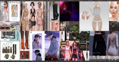 JUST FEW DAYS LEFT FROM CURRENT COSMOPOLITAN ROUND! IF YOU DIDNT YET MAKE SURE TO COME BY BEFORE NEW ROUND REPLACE IT ALL 24th SEPTEMBER! Find all info @ http://cosmopolitansl.blogspot.com/2017/09/cosmopolitan-round-46-11th-21st.html Or just come @ http://maps.secondlife.com/secondlife/No%20Comment/131/61/22  Enjoy !