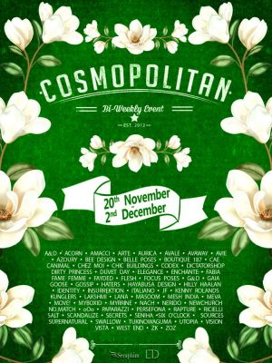 BRAND NEW COSMOPOLITAN ROUND IS HERE! \o/ Info coming soon @ http://cosmopolitansl.blogspot.com/ Or just come @ http://maps.secondlife.com/secondlife/No%20Comment/131/61/22  Enjoy !