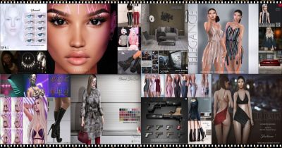 BRAND NEW COSMOPOLITAN ROUND IS HERE! \o/ You have two weeks to come on in, browse around and snap them all up before the round changes again on January 28th! Find all info @ http://cosmopolitansl.blogspot.com/2018/01/cosmopolitan-round-136-15th-27th-january.html Or just come @ http://maps.secondlife.com/secondlife/No%20Comment/131/61/22  Enjoy !