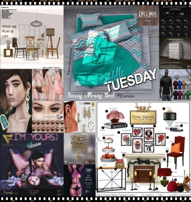 """TIME FOR  HELLO TUESDAY! JUST ONE DAY FOR 50L$ AND 50% OFF SALE DEALS! Find all info and direct SLurls @ http://cosmopolitansl.blogspot.com/2018/01/hello-tuesday-197-store-list-for-23rd.html """"Hello Tuesday is weekly discount event with Cosmo stores, direct SLurls to every item you can find next to each vendor picture."""" Enjoy!"""