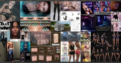 BRAND NEW COSMOPOLITAN ROUND IS HERE! \o/ You have two weeks to come on in, browse around and snap them all up before the round changes again on March 25th! Find all info @ http://cosmopolitansl.blogspot.com/2018/03/cosmopolitan-round-176-12th-24th-march.html Or just come @ http://maps.secondlife.com/secondlife/No%20Comment/131/61/22  Enjoy !