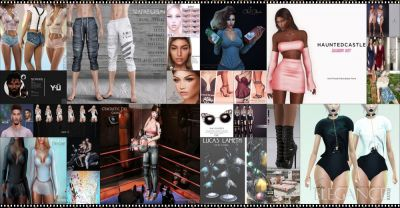LAST DAY FROM CURRENT COSMOPOLITAN ROUND! IF YOU DIDNT YET, DONT WASTE TIME AND COME CHECK WHAT COSMOPOLITAN HAVE TO OFFER BEFORE ITS ALL GONE WITH NEW ROUND 22nd APRIL! Find all info @ http://cosmopolitansl.blogspot.com/2018/04/cosmopolitan-round-196-9th-21th-april.html Or just come @ http://maps.secondlife.com/secondlife/No%20Comment/131/61/22  Enjoy !