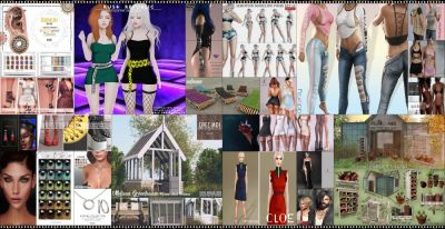 NOT MUCH TIME LEFT FROM CURRENT COSMOPOLITAN ROUND! IF YOU DIDNT YET MAKE SURE TO COME BY BEFORE NEW ROUND REPLACE IT ALL 20th MAY! Find all info @ http://cosmopolitansl.blogspot.com/2018/05/cosmopolitan-round-216-7th-19th-may.html Or just come @ http://maps.secondlife.com/secondlife/No%20Comment/131/61/22  Enjoy !