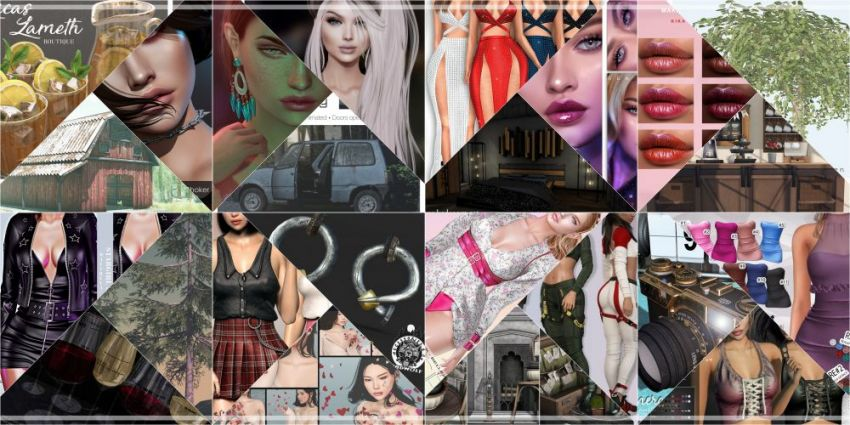 JUST FEW DAYS LEFT FROM CURRENT COSMOPOLITAN ROUND!IF YOU DIDN'T YET MAKE SURE TO COME BY BEFORE NEW ROUND REPLACE IT ALL 8th MARCH!Find all info @ https://cosmopolitansl.blogspot.com/2020/02/cosmopolitan-round-208-24th-february.htmlOr just come @ http://maps.secondlife.com/secondlife/No%20Comment/131/61/22 Enjoy!