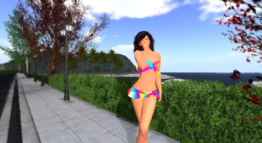 <span>Showing RYL Summer Up and the new skin RYL Human Anime Style. The skin is at Hashtag Event.</span>