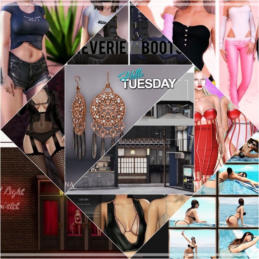 "TIME FOR  HELLO TUESDAY!JUST ONE DAY FOR 50L$ AND 50% OFF SALE DEALS!Find all info and direct SLurls @ https://cosmopolitansl.blogspot.com/2020/05/hello-tuesday-314-store-list-for-5th-may.html""Hello Tuesday is weekly discount event with Cosmo stores, direct SLurls to every item you can find next to each vendor picture.""Enjoy!​​​​​​​⁣"
