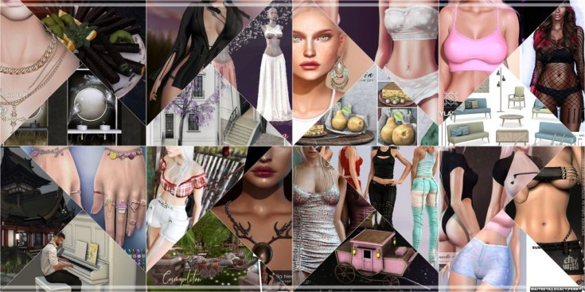JUST FEW DAYS LEFT FROM COSMOPOLITAN 8th ANNIVERSARY ROUND!So if you didn't yet make sure to come by before new round replace it all 17th May, don't miss anything!Find all info @ https://cosmopolitansl.blogspot.com/2020/05/cosmopolitan-8th-anniversary-i-part-4th.htmlOr just come @ http://maps.secondlife.com/secondlife/No%20Comment/131/61/22  Thank you for joining us on our journey over the past eight years!​​​​​​​⁣