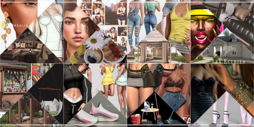 ⁣LAST DAY OF COSMOPOLITAN 8th ANNIVERSARY! This is last chance to check Cosmopolitan 8th Anniversary if you didn't yet. Come check it out before its all gone with new round 31st May, don't miss anything! Find all info @ https://cosmopolitansl.blogspot.com/2020/05/cosmopolitan-8th-anniversary-ii-part.html Or just come @ http://maps.secondlife.com/secondlife/No%20Comment/131/61/22   Thank you for joining us on our journey over the past eight years!