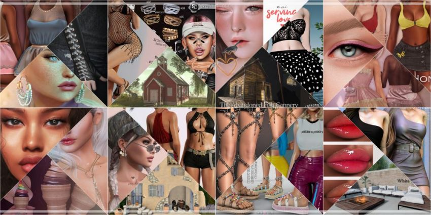 ⁣BRAND NEW COSMOPOLITAN ROUND IS HERE! \o/ You have two weeks to come on in, browse around and snap them all up before the round changes again on August 23rd! Find all info @ https://cosmopolitansl.blogspot.com/2020/08/cosmopolitan-round-69-10th-22nd-august.html Or just come @ http://maps.secondlife.com/secondlife/No%20Comment/131/61/22  Enjoy!