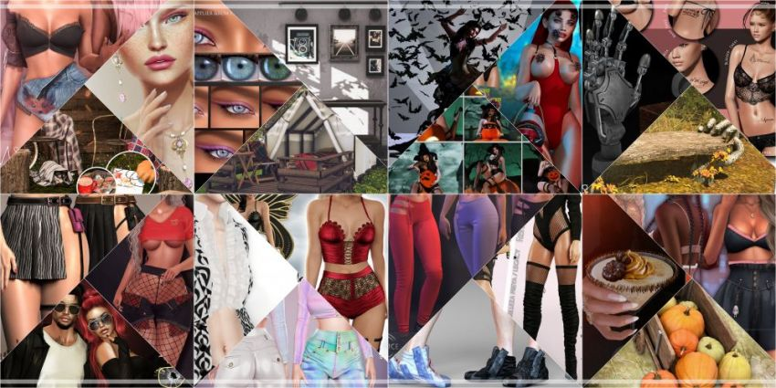 LAST DAY FROM CURRENT COSMOPOLITAN ROUND!If you didn't yet, don't waste time and come check what Cosmopolitan have to offer before its all gone with new round 18th October!Find all info @ https://cosmopolitansl.blogspot.com/2020/10/cosmopolitan-round-109-5th-17th-october.htmlOr just come @ http://maps.secondlife.com/secondlife/No%20Comment/131/61/22 Enjoy!