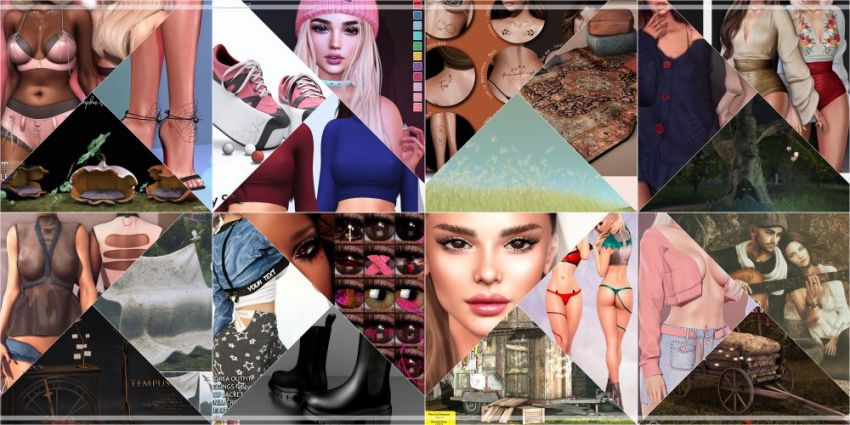 BRAND NEW COSMOPOLITAN ROUND IS HERE! \o/ You have two weeks to come on in, browse around and snap them all up before the round changes again on November 1st! Find all info @ https://cosmopolitansl.blogspot.com/2020/10/cosmopolitan-round-11919th-31st-october_19.html Or just come @ http://maps.secondlife.com/secondlife/No%20Comment/131/61/22  Enjoy!
