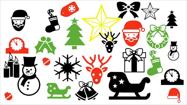 ⁣FREE CHRISTMAS ICONS These icons are a few years old now, but still good for festive projects. Included is a set of Gimp brushes to make adding festive graphics to designs even easier.  ⁣http://lusus-art.blogspot.com/2020/12/christmas-icons.html