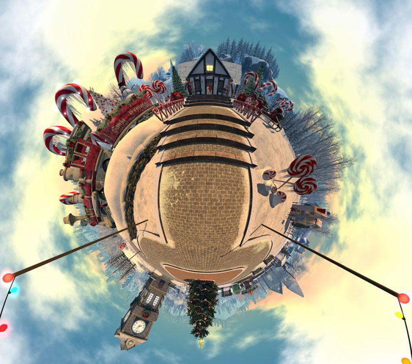 ⁣TIPTOES CHRISTMAS LITTLE PLANET ======================== https://www.sl-inspiration.com/2020/12/tiptoes-christmas-little-planet.html This year's festive jigsaw puzzle is a little different in that its a small planet scene. The image was taken at Dreamers, which offers a great Christmas scene to help immerse yourself in the atmosphere of the season. This jigsaw puzzle is available to download and keep, so you can solve it in your own time, or you can play it on the SL-Inspiration page.