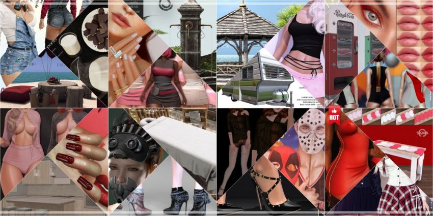 JUST FEW DAYS LEFT FROM CURRENT COSMOPOLITAN ROUND!Make sure to come by before new round replace it all 7th February!Gallery @ https://bit.ly/2M1u4xhLM @ http://maps.secondlife.com/secondlife/No%20Comment/131/61/22 Enjoy!