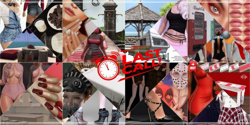 LAST DAY FROM CURRENT COSMOPOLITAN ROUND!Come check what Cosmopolitan have to offer before its all gone with new round 7th February!Gallery @ https://bit.ly/2M1u4xhLM @ http://maps.secondlife.com/secondlife/No%20Comment/131/61/22 Enjoy!