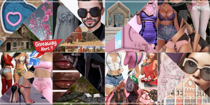 BRAND NEW COSMOPOLITAN ROUND AND GIVEAWAY!Gallery @ https://bit.ly/2MPO2LLLM @ http://maps.secondlife.com/secondlife/No%20Comment/131/61/22 |I•--» GIVEAWAY!!! «--•I| https://bit.ly/3p5P5EvAnnouncement of winner on Saturday 13th February! Good luck everyone!