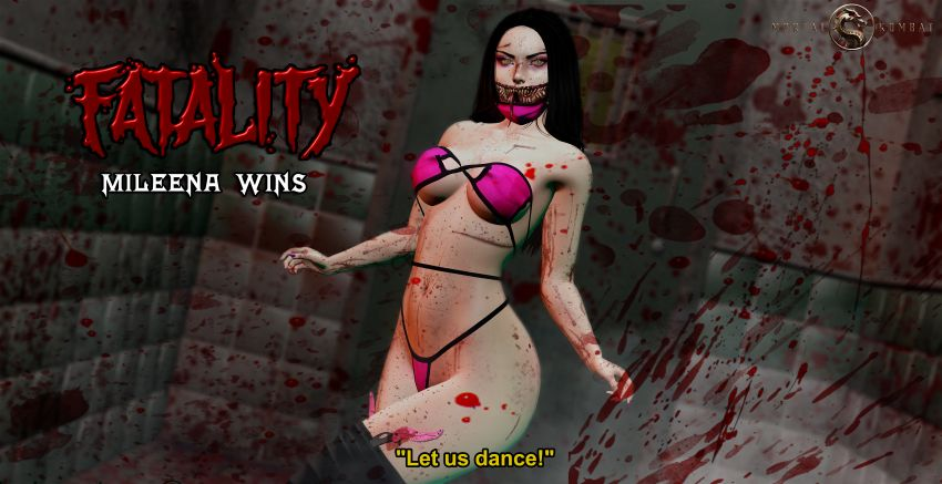 got a lil nasty mouth, remindin' me of mileena.