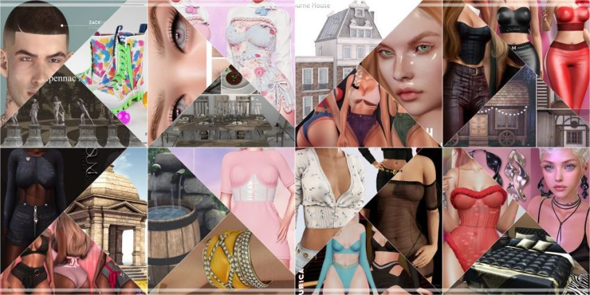 ⁣JUST WEEK LEFT FROM CURRENT COSMOPOLITAN ROUND! Gallery @ https://bit.ly/3tvt0Cn LM @ http://maps.secondlife.com/secondlife/No%20Comment/131/61/22  Enjoy!