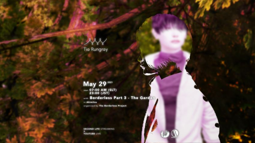 """""""Borderless Part III"""" with live concert by Tia Rungray"""