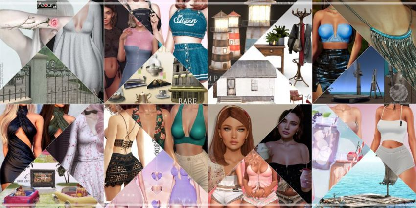 JUST WEEK LEFT FROM CURRENT COSMOPOLITAN ROUND!Gallery @ https://bit.ly/3qx77SgLM @ http://maps.secondlife.com/secondlife/No%20Comment/131/61/22Enjoy!