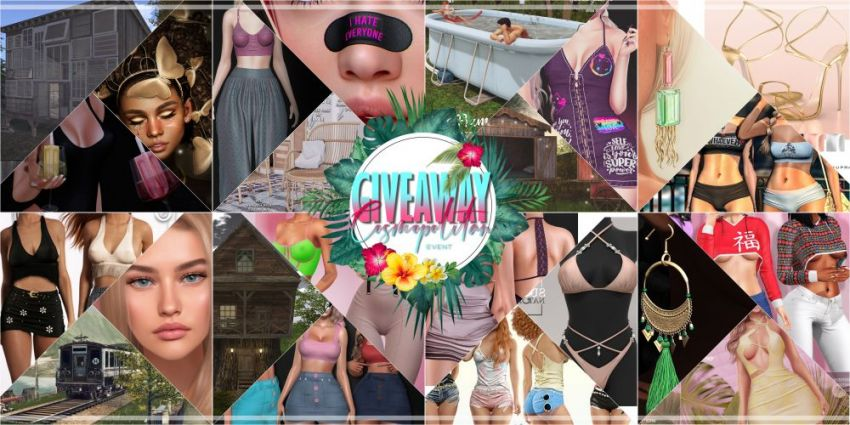 BRAND NEW COSMOPOLITAN ROUND AND GIVEAWAY! \o/ Gallery @ https://bit.ly/3wzZOuK Giveaway @ https://bit.ly/3kuw4NB LM @ http://maps.secondlife.com/secondlife/No%20Comment/131/61/22  Good luck everyone!